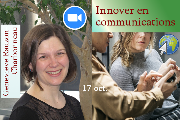 Webinaire Innover en communications